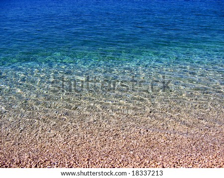 Wonderful sea - stock photo