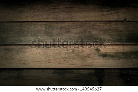 wood background brown texture pattern design for text and message board - stock photo
