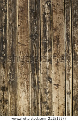 Wood boards, background - stock photo
