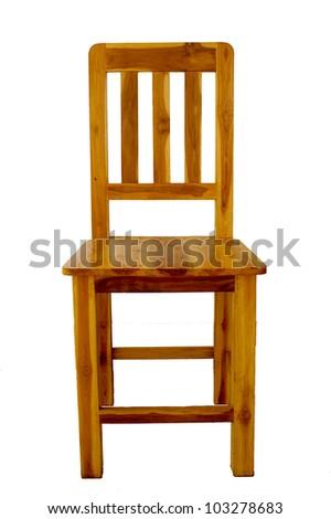 wood chair - stock photo