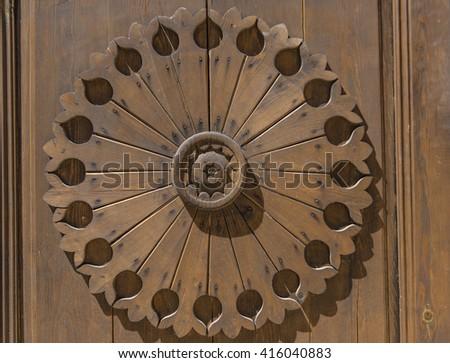 wood decor and design - stock photo