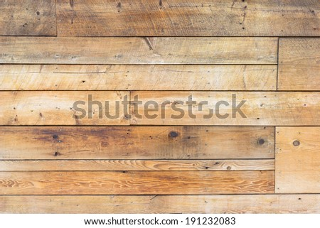 Wood Panel Wall - stock photo