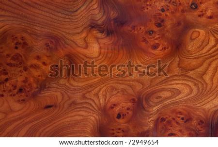 Wood pattern, horizontal close up shot - stock photo