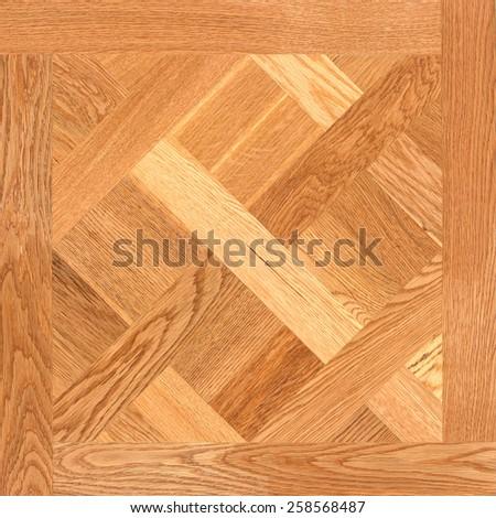 Wood pattern seamless. Parquet floor. - stock photo