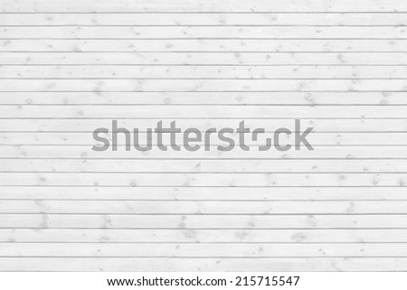 Wood pine plank white texture background - stock photo