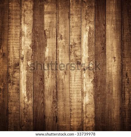 wood plank background - stock photo