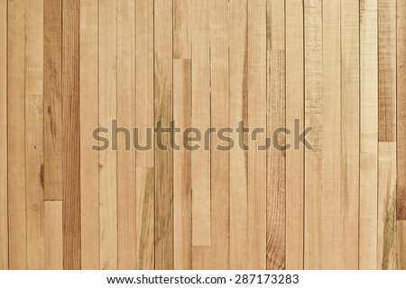 wood plank wall / wood wall background for design and decoration - stock photo