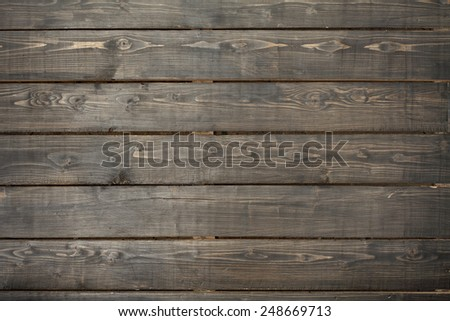 wood planks background - stock photo