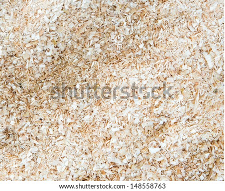 Wood Sawdust Texture Background - stock photo