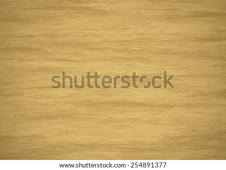 Wood surface texture. Digitally generated warm beige wood or plywood texture with realistic pattern, light in center and dark on edges. - stock photo