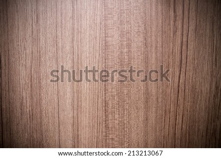 wood texture background with vignette - stock photo