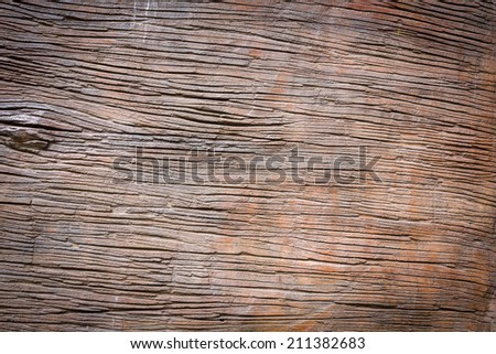 Wood texture made from cement - stock photo