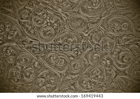 wood texture with natural wood ring patterns - stock photo