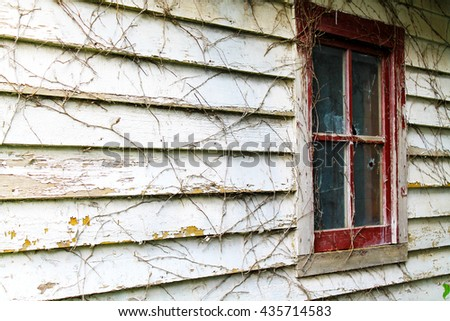 Wood Texture, Wood Close up, Old Paint, Old Wood, Paint Chip, Old Building, Antique - stock photo