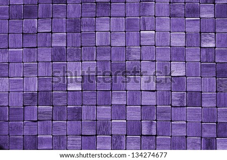 wood wall detailed background pattern - stock photo