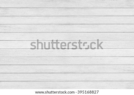 Wood wall plank white texture background - stock photo