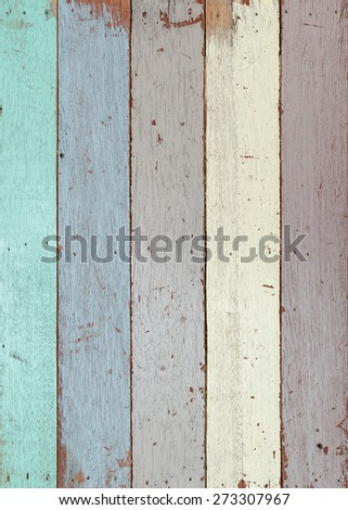 Wood wall texture for background. - stock photo