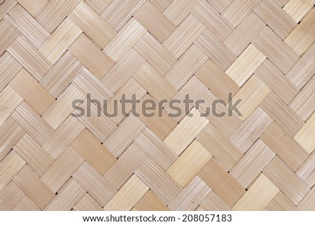 Wood weave, may use as background - stock photo