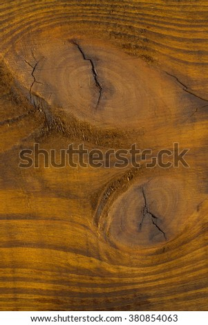 Wood with knots close up. background - stock photo