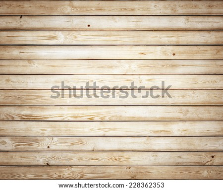 Wood yellow texture. Natural background - stock photo