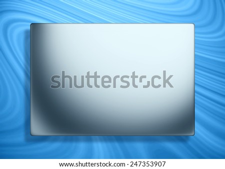 Wooden banner background and free area. - stock photo