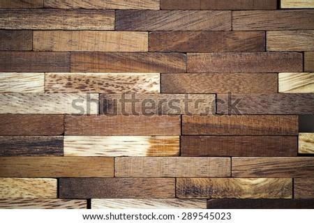 Wooden bars parquet texture background - stock photo