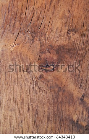 Wooden board background. - stock photo