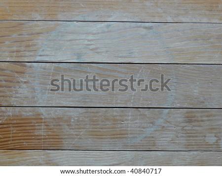 Wooden boards crosswise - stock photo