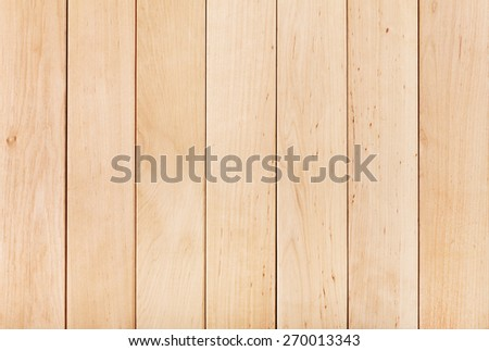 Wooden brown desk  floor or table background - stock photo
