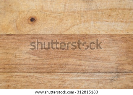 Wooden cutting board texture background. - stock photo