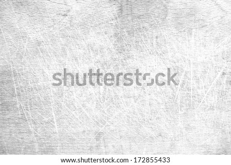 Wooden cutting surface in kitchen closeup texture  - stock photo