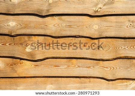 Wooden fence horizontal background - stock photo