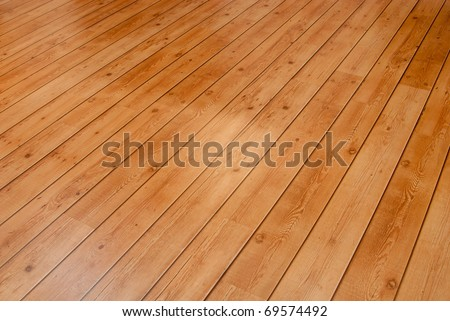 Wooden floor board background. - stock photo