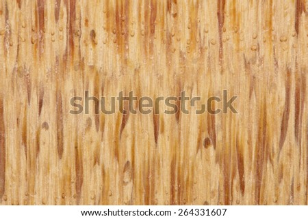 Wooden grainy texture background. Bamboo.  Macro. - stock photo