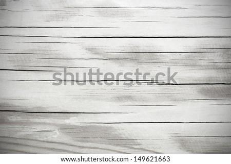 Wooden grey polished background - stock photo