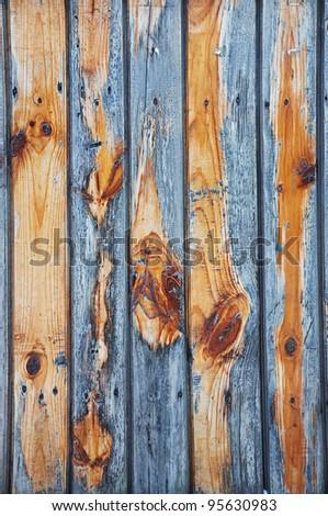 Wooden grunge texture - stock photo