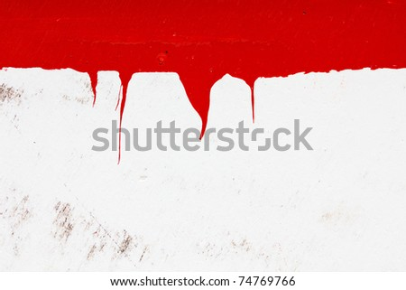 wooden grungy painted background - stock photo
