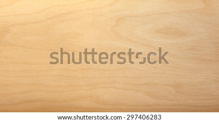 Wooden horizontal texture with natural wood pattern - stock photo