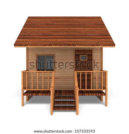 Old Vintage Small Wood House Design And Decorating