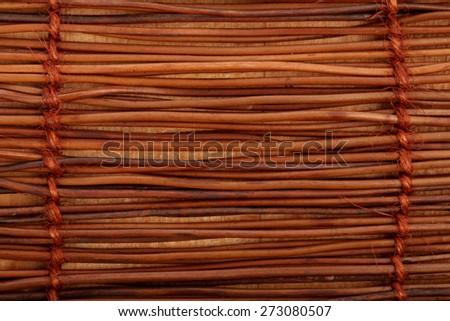 Wooden Mat Texture - stock photo