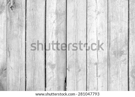 Wooden old grunge plank texture as background - stock photo