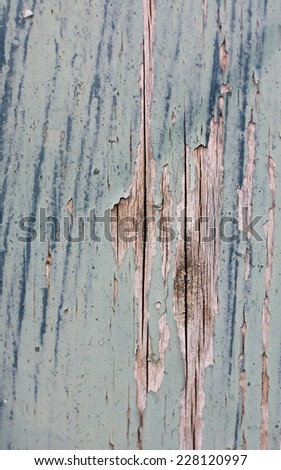 Wooden painted background - stock photo