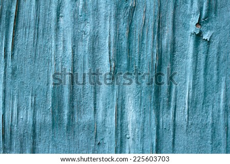 wooden painted background green - stock photo