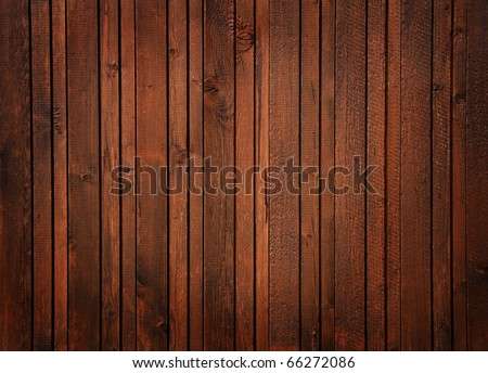 wooden panels - stock photo