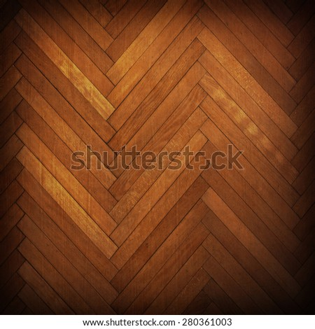 Wooden parquet floor - stock photo