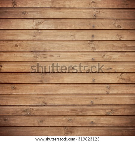 Wooden plank background, tinting, grunge  material. Wall made of wooden planks - stock photo