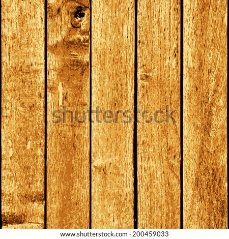 Wooden Planks Background - vertical distressed wooden planks for your design.  - stock photo