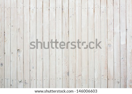 Wooden planks wall background - stock photo