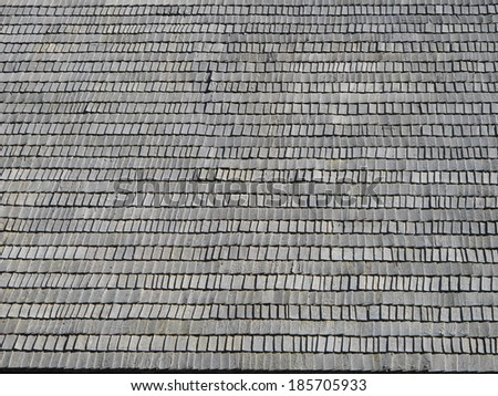 Wooden  roof background - stock photo