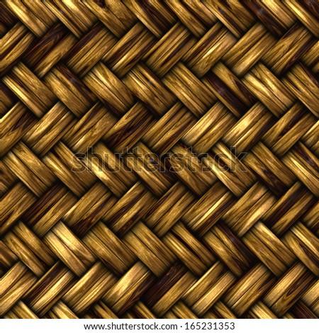 Wooden seamless texture - stock photo